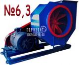 Пиловий вентилятор ВЦП 6-45 (ВРП 6-45) №6,3 (виконання 5)