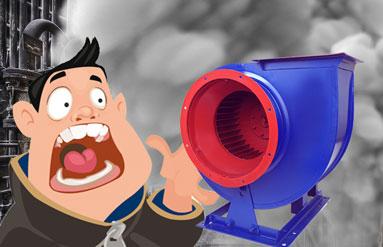 """Як швидко """"знищити"""" промисловий вентилятор"""